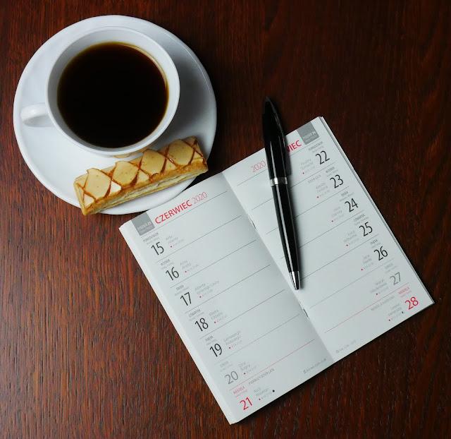 Kalendarz do zapisywania ważnych wydarzeń