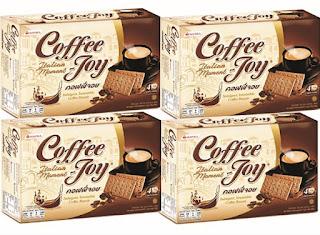Tasty Tea Cookies - Coffee Joy Biscuits