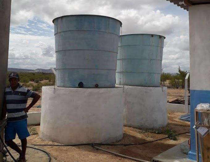 Sistema leva água potável a comunidade em Assú