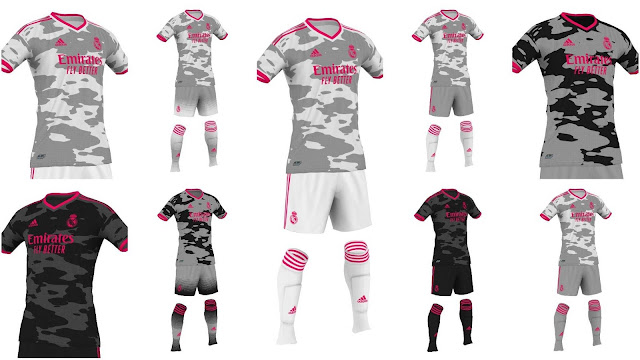 PES 2020 Real Madrid Kitpack Camouflage by Gio Xpro