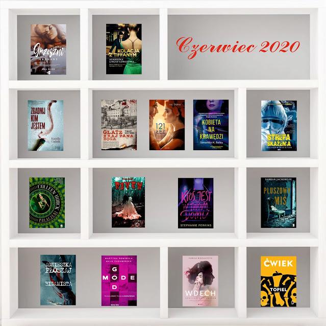Czerwiec 2020 - Podsumowanie czytelnicze
