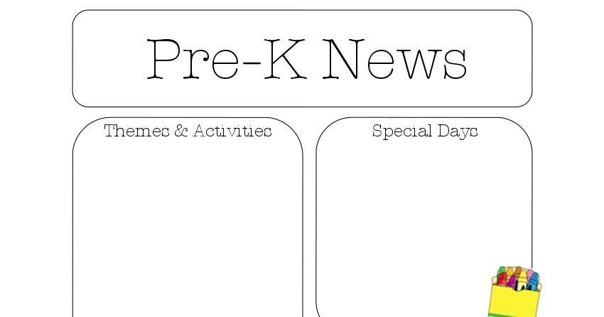 Editable newsletter templates for preschool want to see a free preview of this file? Newsletter Templates