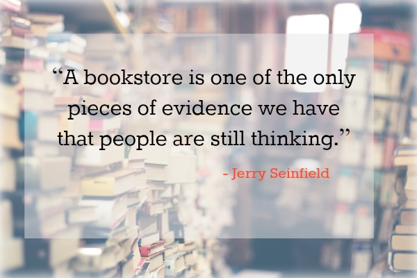 Seinfeld Book Quote, Bookstore Quote