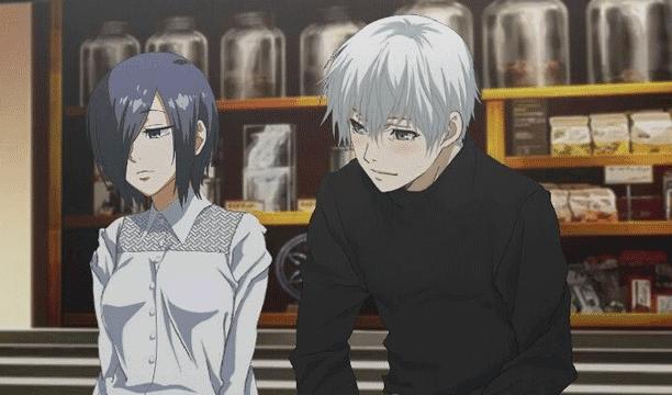 Pasangan Anime Terbaik - Touka Kirishima X Ken Kaneki