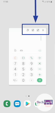 Minimalizowanie okna z aplikacją