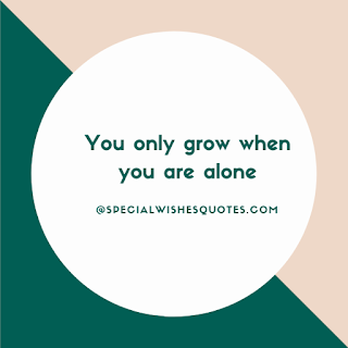 Grow you alone
