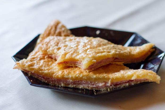 Kinkku Juusto Toast