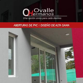 Aberturas de PVC Alta Gama fabricadas por Ovalle Hermanos