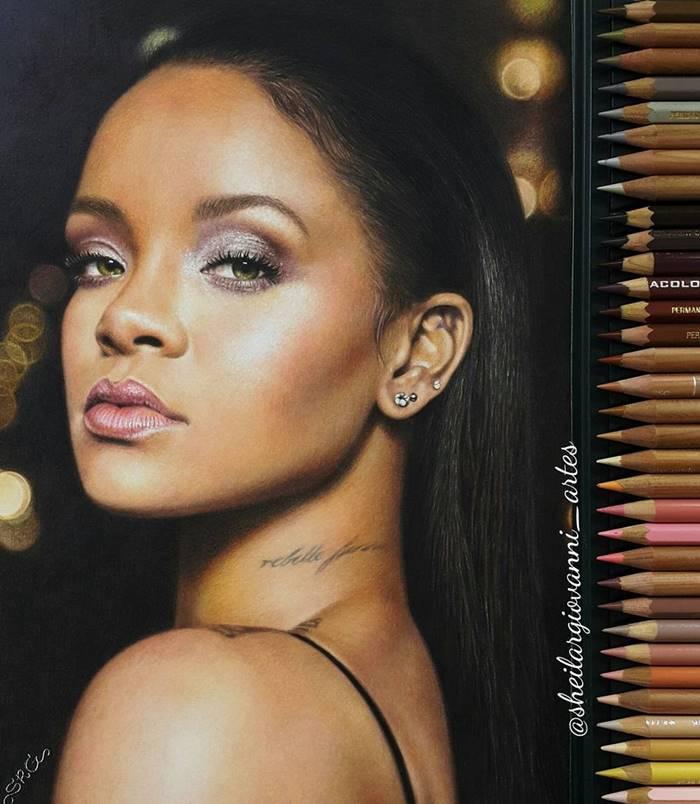 Ultra-realistic drawings drawn with pencils by Sheila R. Giovanni, pencil portraits by Sheila R. Giovanni, Brazilian artist Sheila R Giovanni Drawings, Sheila R. Giovanni