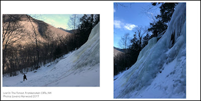 ice climbing, top rope, crawford notch