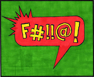 F#ck Comic Book Word by Patrick Valdez