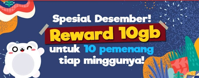Roli Event Reward Data Gratis 10GB Desember
