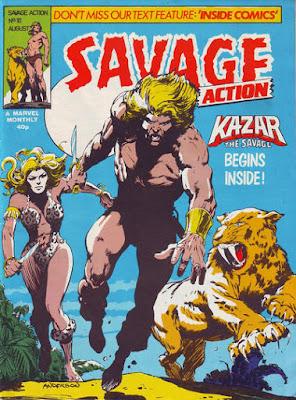 Savage Action #10, Ka-Zar