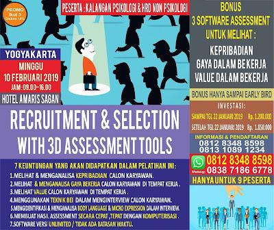 Pelatihan Psikologi 2019 Yogyakarta
