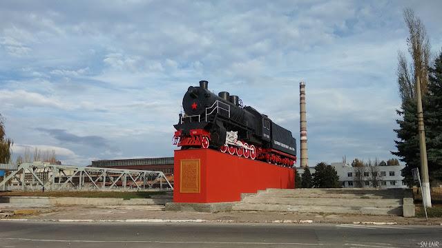 Тысячный послевоенный паровоз ЛУГАМАШ Луганск