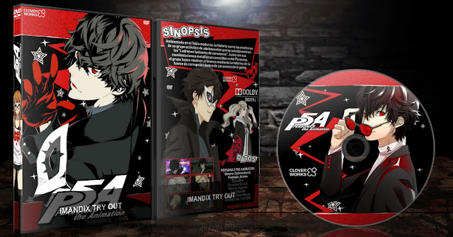 Persona 5 the Animation | Cover DVD |