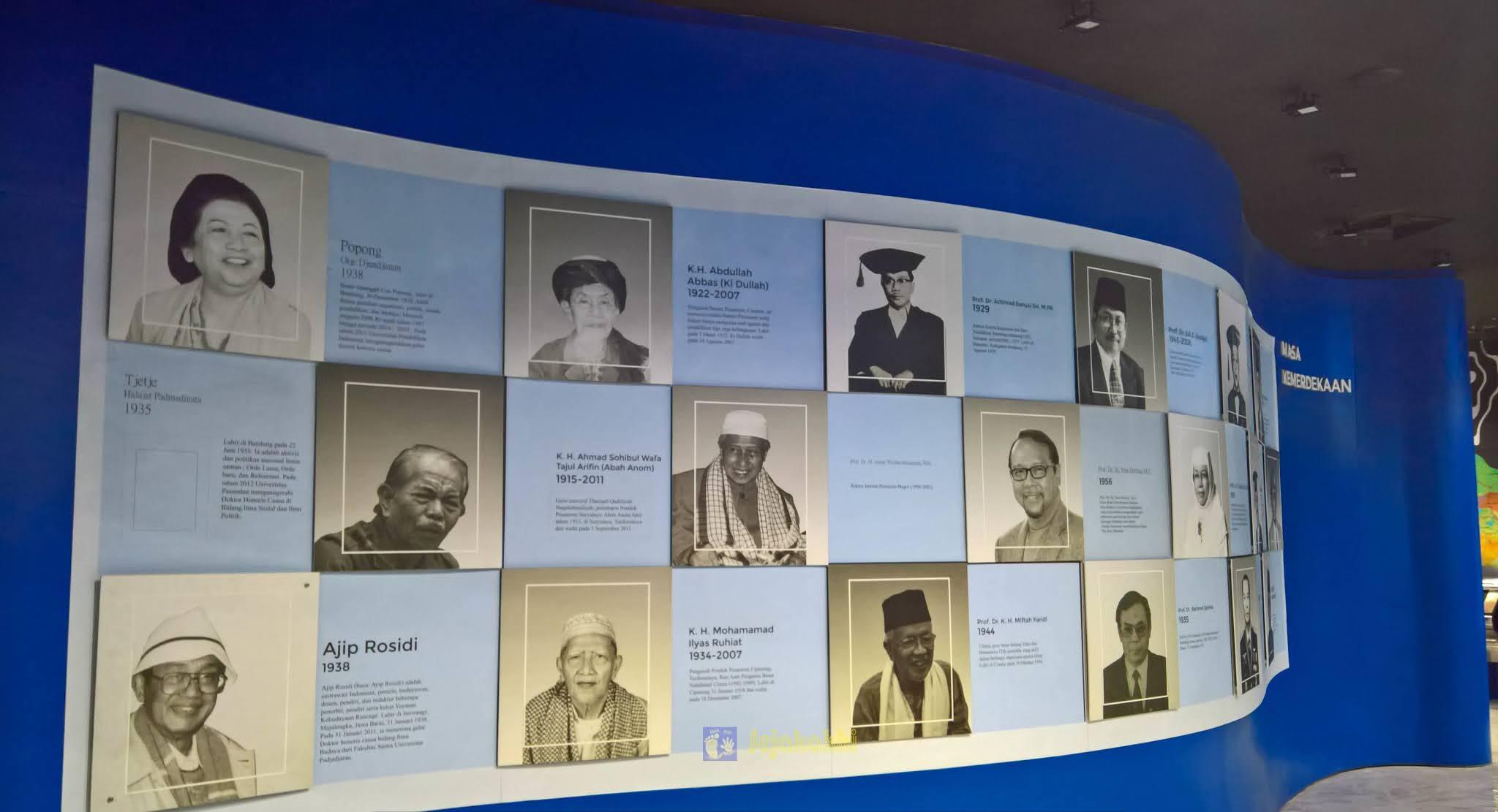 Jelajah Museum: Berkumpulnya Pesohor Jawa Barat di Hall Of Fame - Panggung Inohong