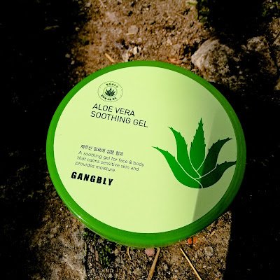 review gangbly aloe vera soothing gel