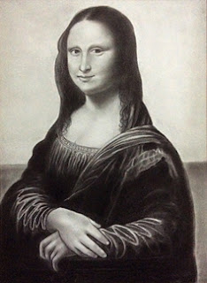 Copy of Mona Lisa by leonardo da vinci by Manju Panchal