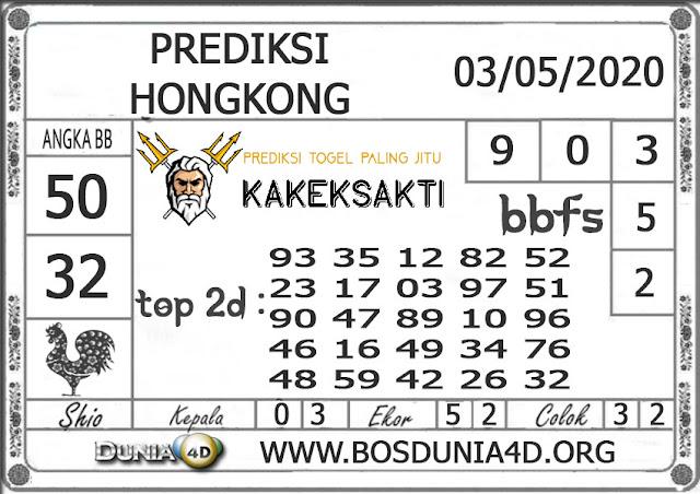 Prediksi Togel HONGKONG DUNIA4D 03 MEI 2020