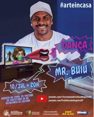 Mr. Buiu vai colocar todo mundo pra dançar em live do Arte In Casa