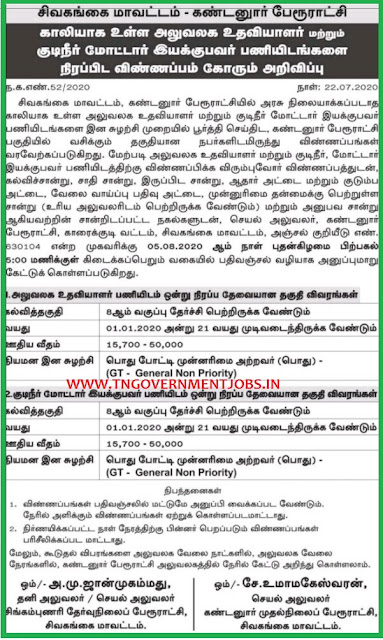 Kandanur-Sivagangai-Office-Assistant-Pump-Operator-Jobs-www.tngovernmentjobs.in