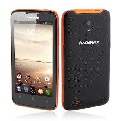 Lenovo S750 Specifications - LAUNCH Announced 2014 DISPLAY Type IPS LCD capacitive touchscreen, 16M colors Size 4.5 inches (~60.6% screen-to-body ratio) Resolution 540 x 960 pixels (~245 ppi pixel density) Multitouch Yes, up to 5 fingers Protection Corning Gorilla Glass BODY Dimensions 135 x 68.2 x 9.9 mm (5.31 x 2.69 x 0.39 in) Build  Weight 145 g (5.11 oz) SIM Dual SIM (Dual stand-by)  - IP67 certified - dust and water resistant - Water resistant up to 1 meter and 30 minutes PLATFORM OS Android OS, v4.2.1 (Jelly Bean) CPU Quad-core 1.2 GHz Cortex-A7 Chipset Mediatek MT6589 GPU PowerVR SGX544 MEMORY Card slot microSD, up to 32 GB (dedicated slot) Internal 4 GB, 1 GB RAM CAMERA Primary 8 MP, autofocus, LED flash Secondary VGA Features Geo-tagging, touch focus, face detection Video 720p NETWORK Technology GSM / HSPA 2G bands GSM 900 / 1800 - SIM 1 & SIM 2 3G bands HSDPA 2100 Speed HSPA GPRS Yes EDGE Yes COMMS WLAN Wi-Fi 802.11 b/g/n, hotspot GPS Yes, with A-GPS USB microUSB v2.0 Radio FM radio Bluetooth Yes FEATURES Sensors Accelerometer, proximity Messaging SMS(threaded view), MMS, Email, Push Mail, IM Browser HTML Java No SOUND Alert types Vibration; MP3, WAV ringtones Loudspeaker Yes 3.5mm jack Yes BATTERY  Removable Li-Ion 2000 mAh battery Stand-by  Talk time  Music play  MISC Colors Black/Orange  - MP4/WMV/H.264 player - MP3/WAV/WMA/eAAC+ player - Photo/video editor - Document viewer - Voice memo/dial