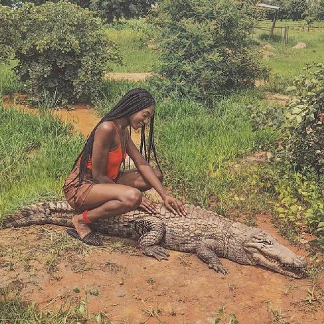 Người dân ở ngôi làng kì lạ sống cùng hàng trăm con cá sấu 2