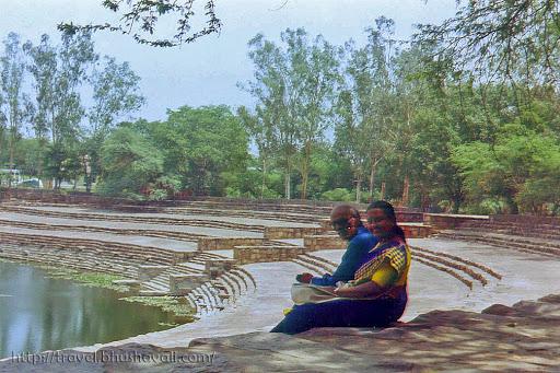 Ancient Surajkund Reservoir