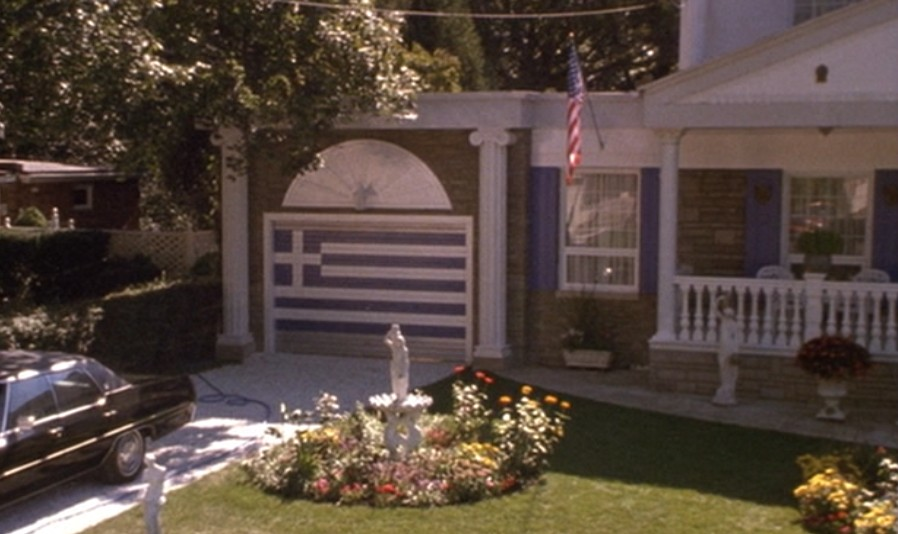The Voice Of Vexillology Flags Heraldry Car Door Greek Flag From My Big Fat Greek Wedding 2002