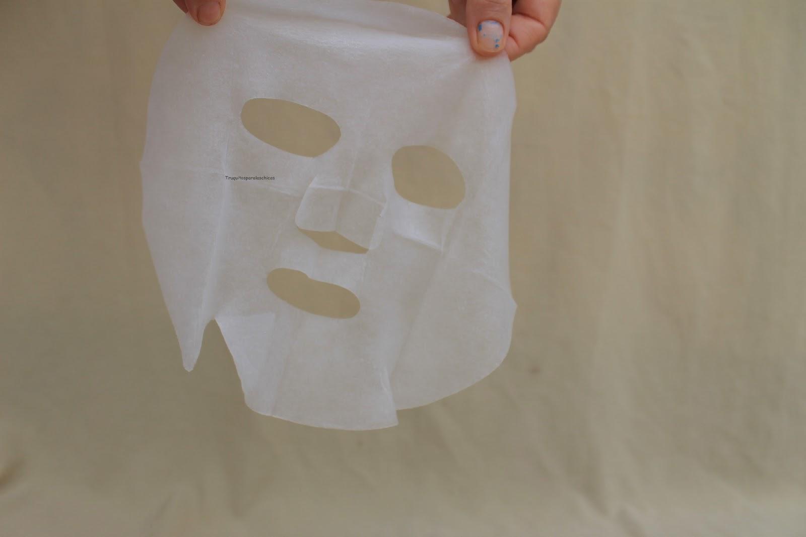 mascarilla facial coreana