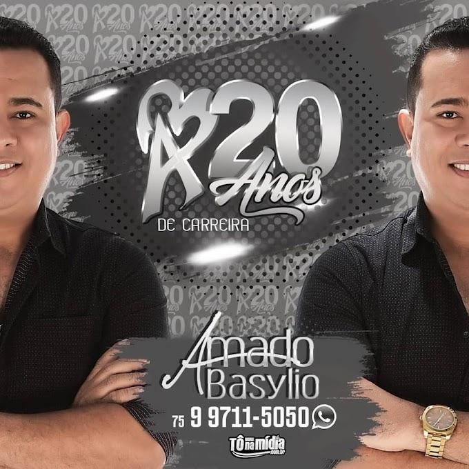 AGENDA DE SHOWS - AMADO BASYLIO