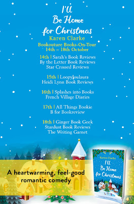 French Village Diaries book review I'll Be Home for Christmas Karen Clarke