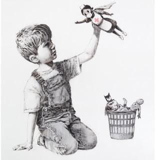 Lukisan Banksy Untuk Corona