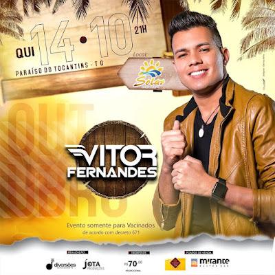 VITOR FERNANDES EM PARAISO DO TOCANTINS