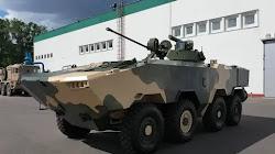 Belarus trình làng nguyên mẫu Xe Chiến đấu bọc thép mới