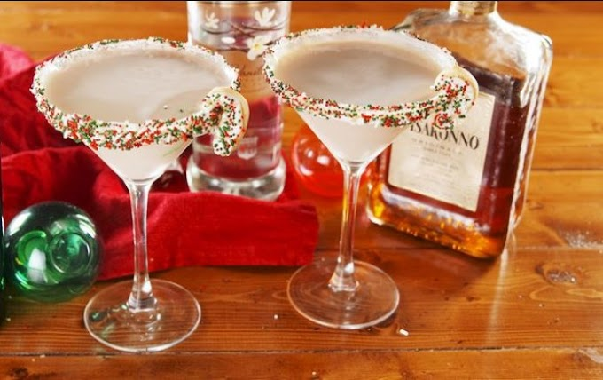 Sugar Cookie Martini #drinks #alcohol