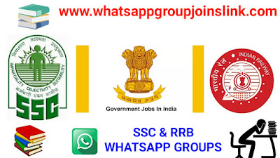 Indian SSC & RRB WhatsApp Group Joins Link: [Educational Groups]