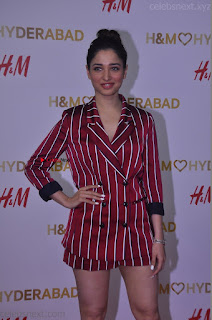 Tamannah Bhatia Exclusive in Red Blazer and Red Shorts Spicy Pics ~  Exclusive 045.JPG