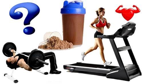 Un batido de proteínas entre las pesas y el cardio es recomendado