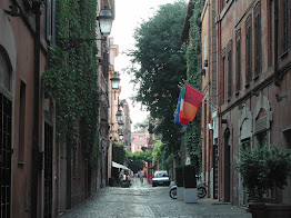 The pretty Via Margutta was one of the most fashionable streets in Rome