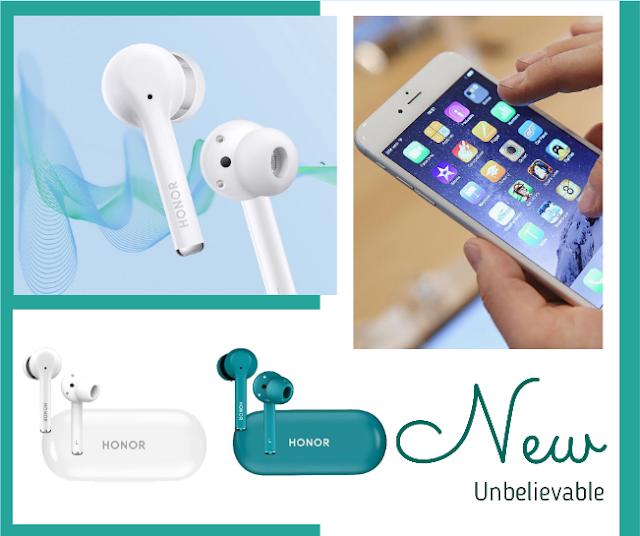 """Les nouveaux écouteurs Huawei """"Magic Earbuds"""" et leurs fonctions pratiques (Incroyable)"""