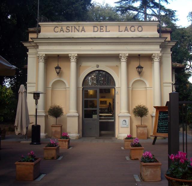 Bar a villa Borghese