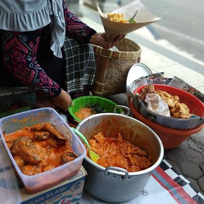 makanan khas Lamongan nasi boranan