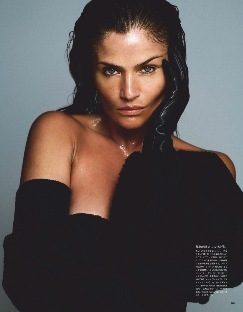 Helena Christensen - Vogue Japan Beauty