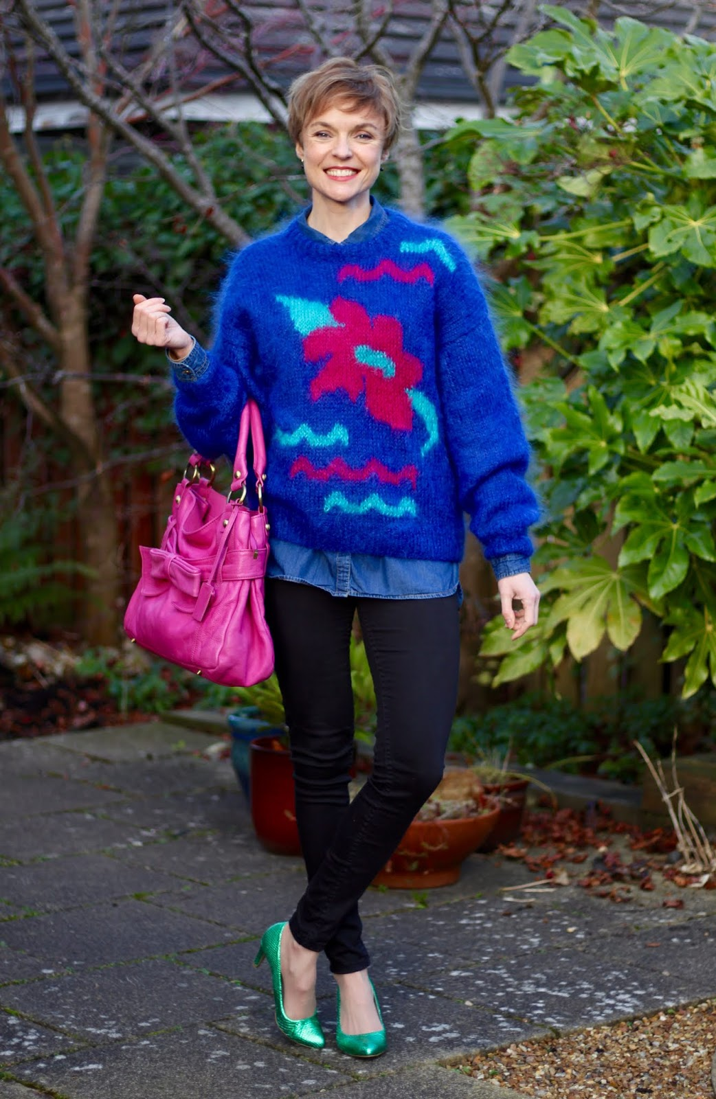 Vintage Statement knit | Fake Fabulous