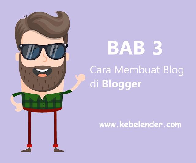 Langkah-Langkah dan Cara Membuat Blog di Blogger