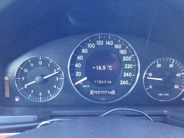 Απίστευτο: Στους -16.5 βαθμούς Κελσίου έπεσε η θερμοκρασία σε χωριό της Αρκαδίας