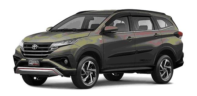 Desain Eksterior dan Ukuran Toyota Rush Terbaru