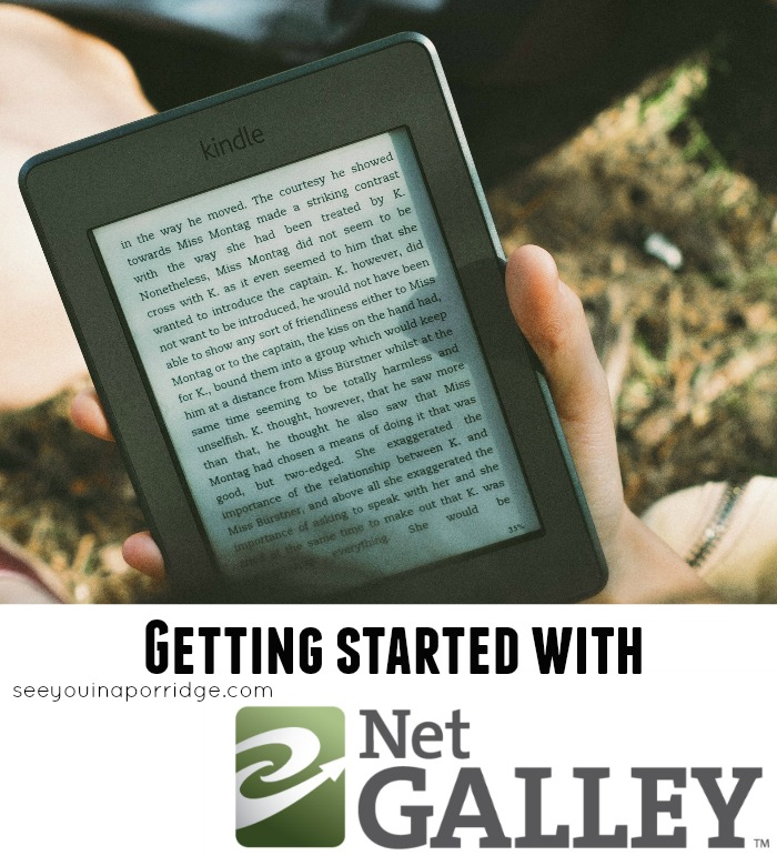 Getting started with NetGalley